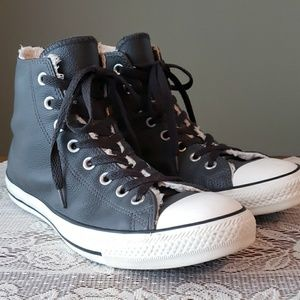 Converse Leather All Star Chucks Tennis Shoes